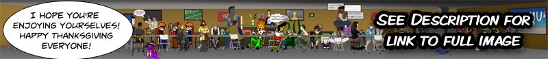 ComicFury Thanksgiving Dinner